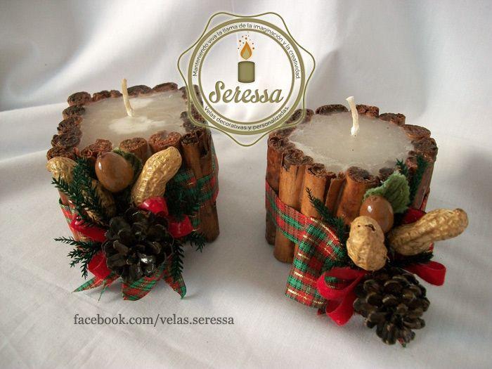 11 best para la temporada navide a images on pinterest for Adornos navidenos con copas y velas