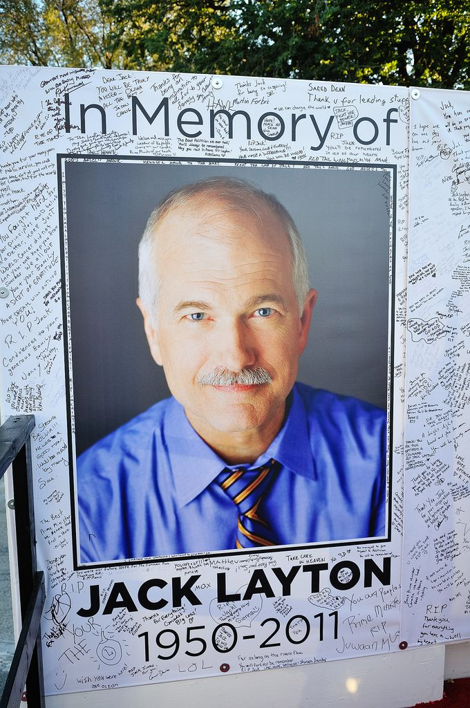 Jack Layton, you are missed