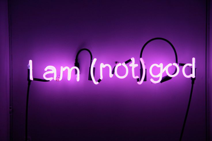Fall Out Boy And Panic At The Disco Wallpaper I Am Not God Neon By Artist Kiron Robinson Neon Signs