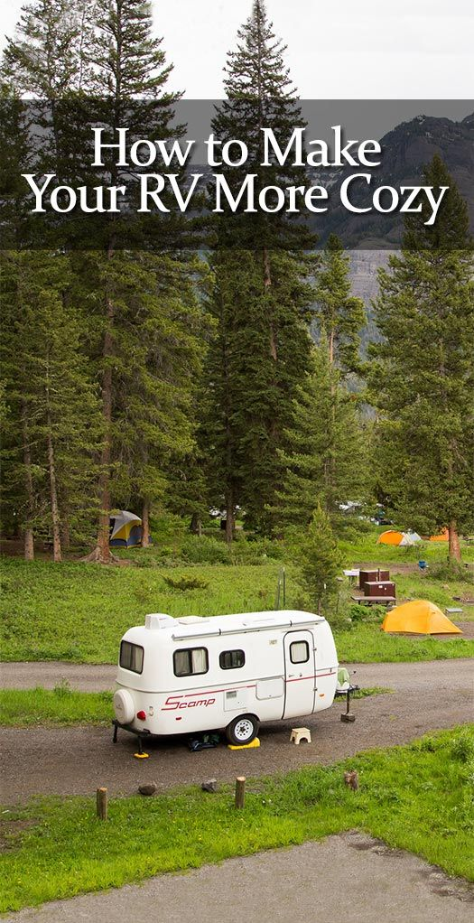 How to Make Your RV More Cozy! #camping