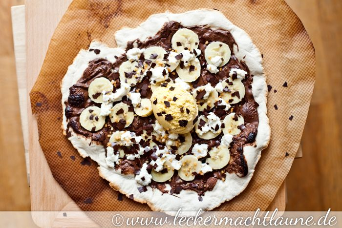 Dessert-Pizza :) | lecker macht laune