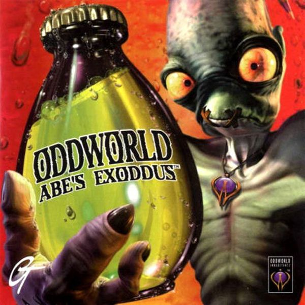 Originally created in 1998, Abe's Exoddus tells the story of Abe, one of a race known as the Mudokons; small, blue (or green), nature-loving creatures who are being enslaved by the Glukkons; large brown monsters who wear suits and walk on their hands.