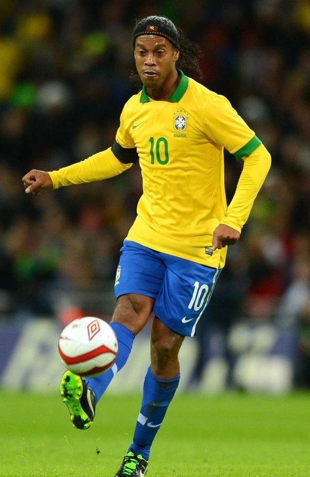 Ronaldinho Photos Photos England V Brazil International Friendly In 2020 Brazil Football Team Best Football Players Football Match