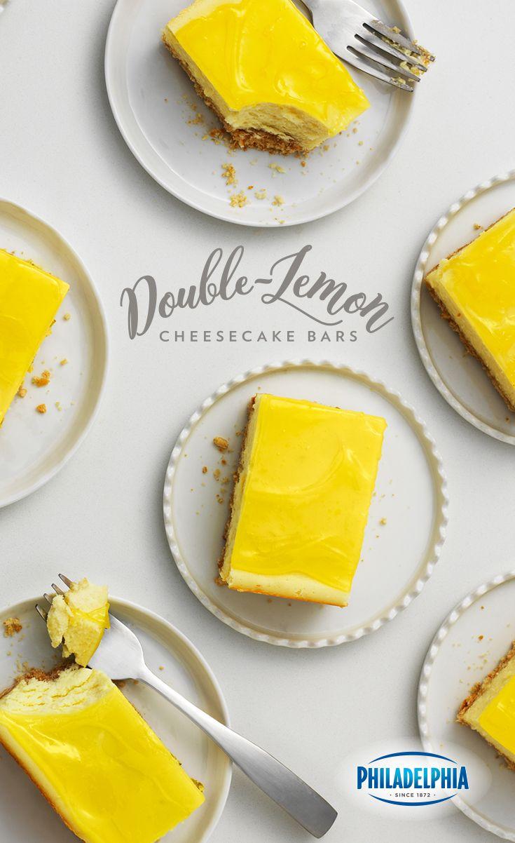 Philadelphia Cream Cheese, vanilla wafers, lemons and lemon zest combine to make this combo dessert.