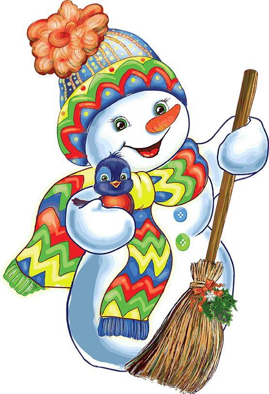 Weihnachten Rohre / Schneemänner