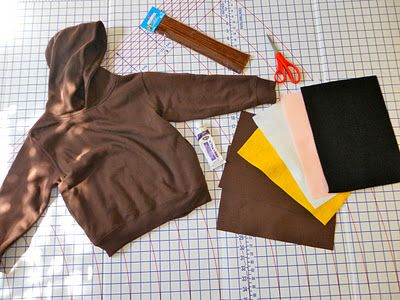 "Little Red Riding Hood and the Big Bad Wolf ""Hoodie"" Costumes – {Tutorial}"