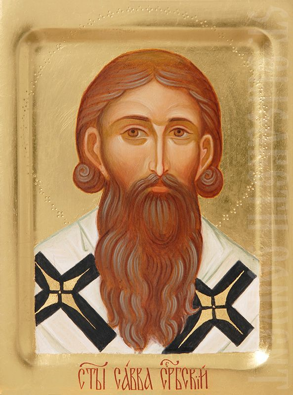 Handpainted Icons of St Sava of Serbia Icons starting at $200 Order here: https://catalog.obitel-minsk.com/painted-icon-of-st-sava-of-serbia-imp010037.html   #CatalogOfGoodDeeds #OrthodoxIcons