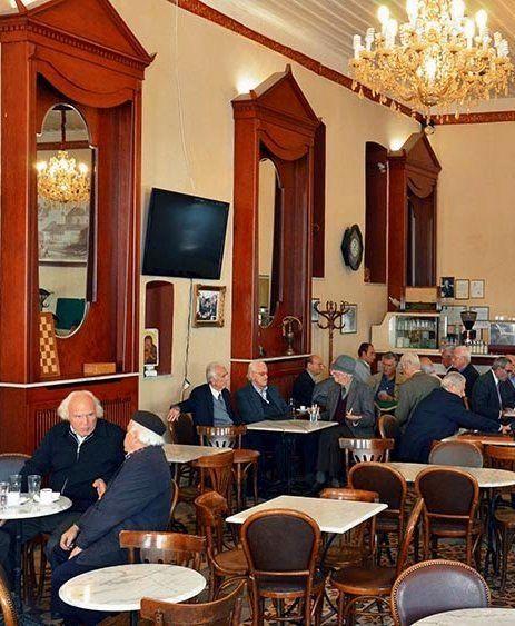The Grand Cafe (Megalo kafeneio), Tripoli, Arcadia, Greece | by Dina Vitzileou