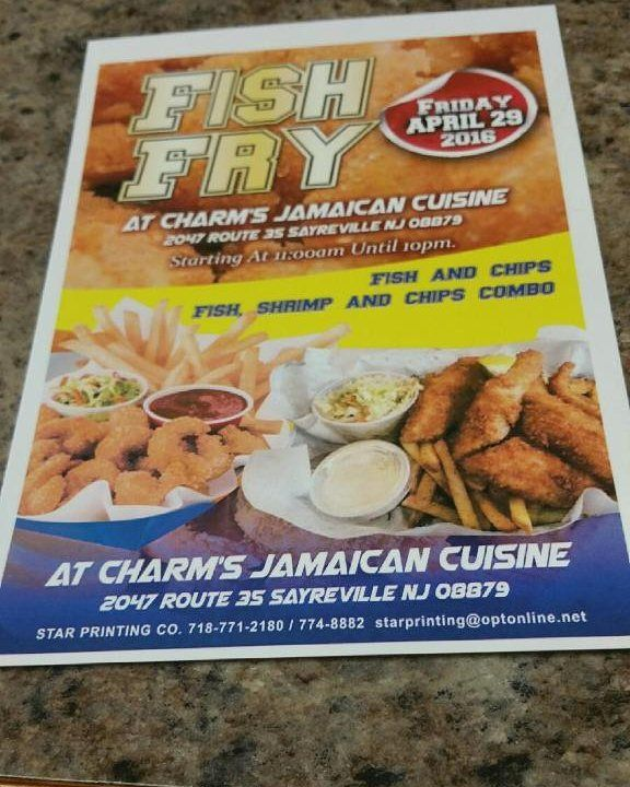 Jamaican cuisine charms #fishfry 2047 route 35 Sayreville nj April 29. #jamaicangirl #foodie #jamaicanfood #nj by kimarazzi