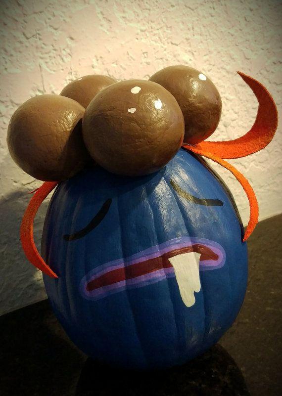 Pokemon Go Halloween painted Funkin Pumpkin Gloom by apoe727