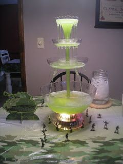 Cutting Coupons in KC: Army Men Birthday Cake & Camouflage Punch Recipe