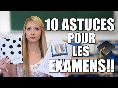 10 ASTUCES POUR RÉUSSIR VOS EXAMENS! - YouTube
