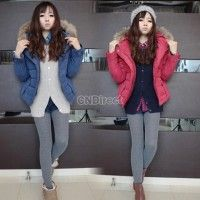 Love the colors on these! Winter Women Warm Jackets Hooded Ladies Fleeces Top Trench Overcoat Coat Fashion Women Coat