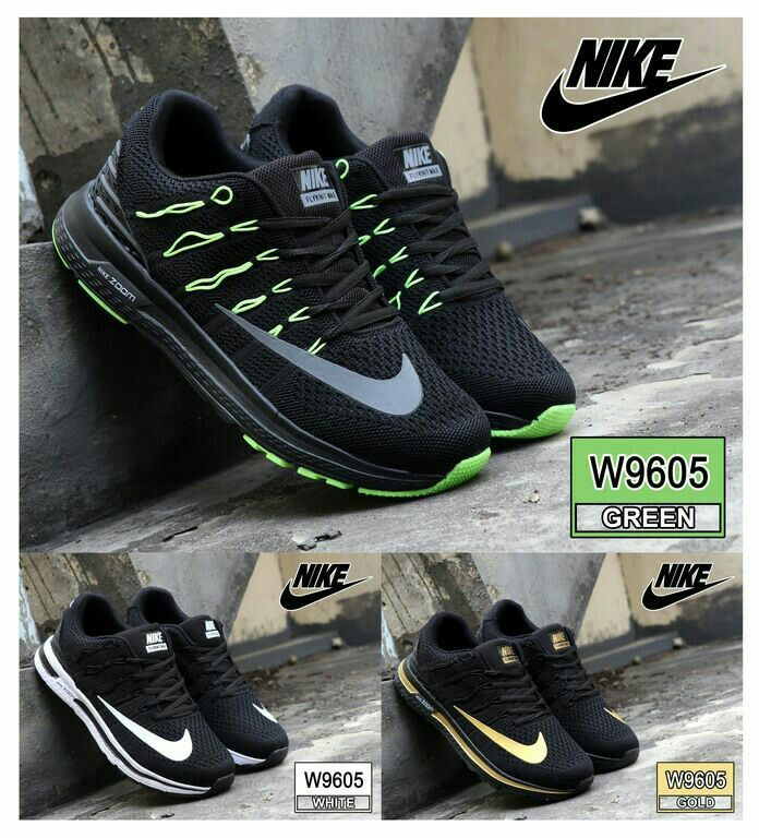 Sneaker Sport Shoes Nike W9605 Bahan Fabric Mesh Kualitas
