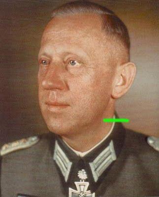Third Reich Color Pictures: Heer Generalmajor