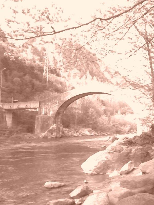 Val Brembana - Bridge of Goats -- Val Brembana - Ponte delle Capre
