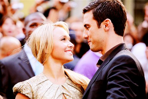 Hayden Panettiere & Milo Ventimiglia, some people say they really did date and so people say they didn't. Either way they will always be one of my favorite real life otps