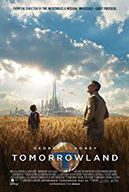 Directed by Brad Bird.  With George Clooney, Britt Robertson, Hugh Laurie, Raffey Cassidy. Bound by a shared destiny, a teen bursting with scientific curiosity and a former boy-genius inventor embark on a mission to unearth the secrets of a place somewhere in time and space that exists in their collective memory.