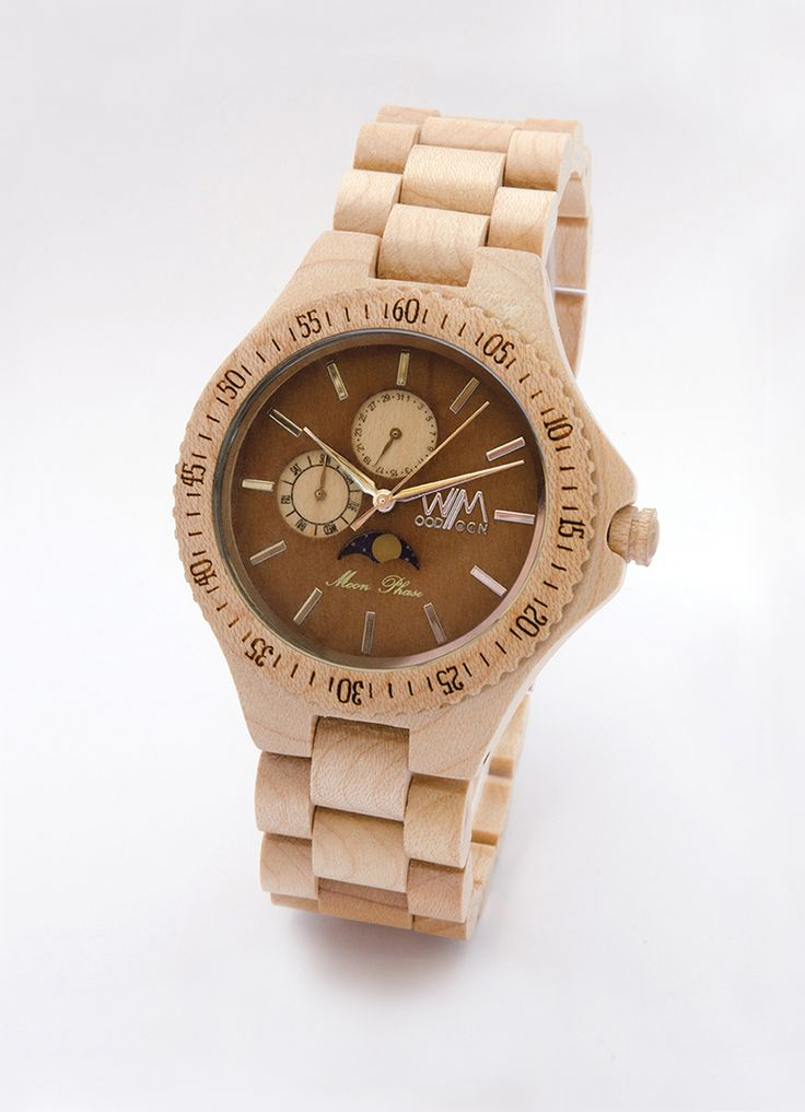 Apollo orologio in legno - wood watch