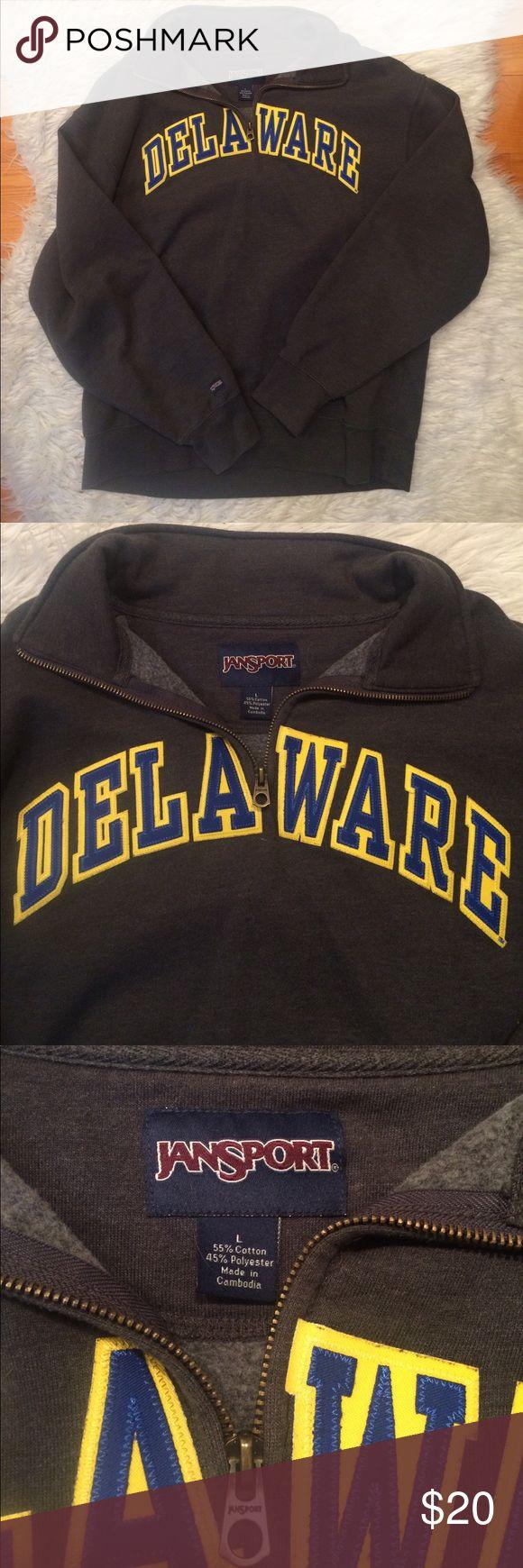 Delaware Sweatshirt Jansport, University of Delaware sweatshirt, L Jansport Tops Sweatshirts & Hoodies