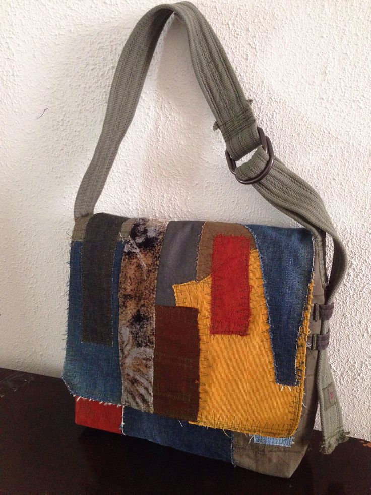 A personal favourite from my Etsy shop https://www.etsy.com/listing/549552005/toscana-mens-messenger-bag-patchwork-3