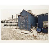 Geoffrey James, Boat Yard, Kingston, 2013. AP/1. Archival pigment print. Dimensions. Valued at $3,500