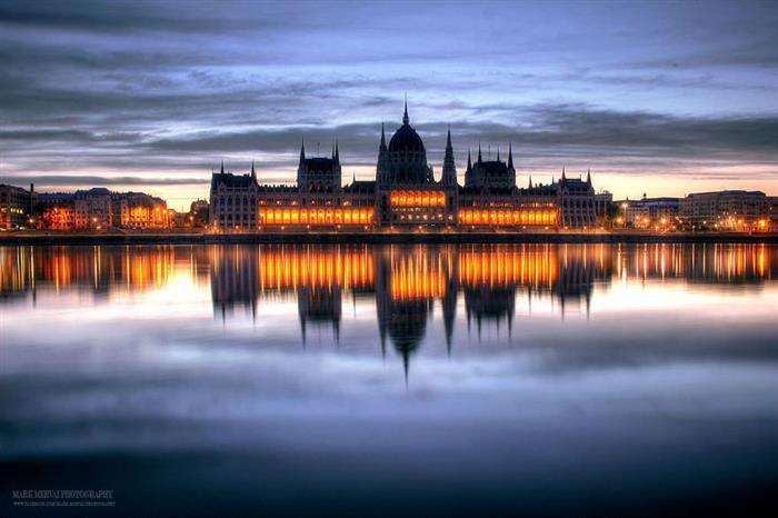 Budapeste como você nunca viu  O estonteante Parlamento de Budapeste.