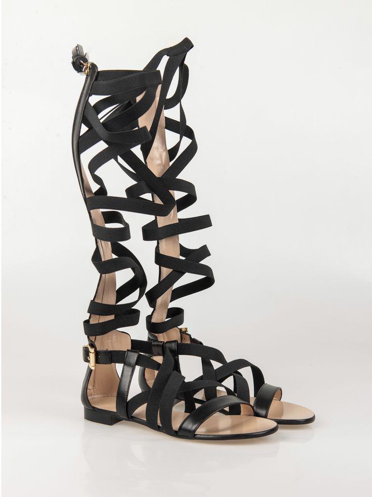 MSGM , Gore Knee Sandalet #shopigo#shopigono17#shoponline#womenswear#sneakers#MSGM