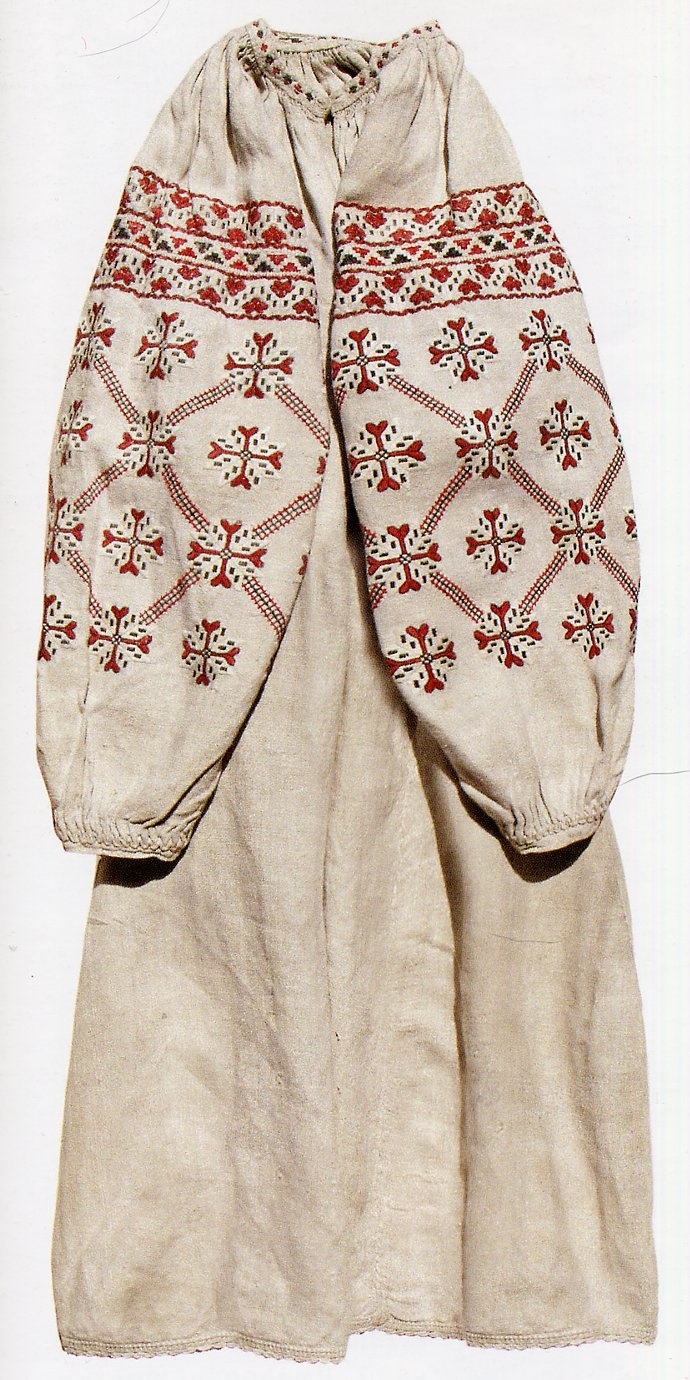 FolkCostume: White, Black and Red Embroidery of Chernyhiw Province and East Polissia, Ukraine