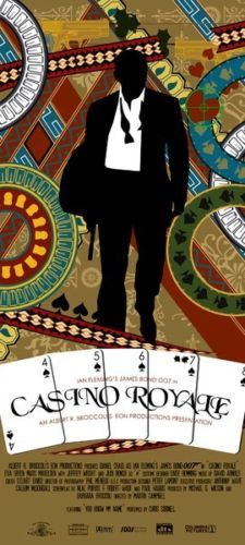 007 James Bond Casino Royale Daniel Craig Skyfall Art Print Movie Poster RARE | eBay