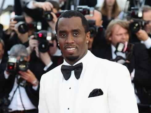 Sean Combs in White Dinner Jacket