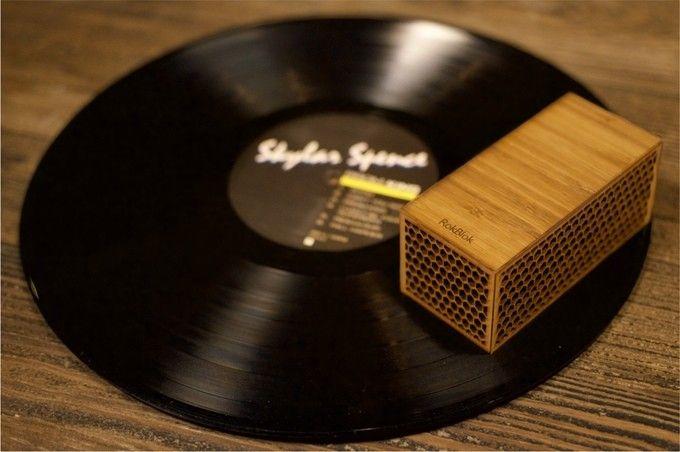 RokBlok : un lecteur de vinyles à emporter partout