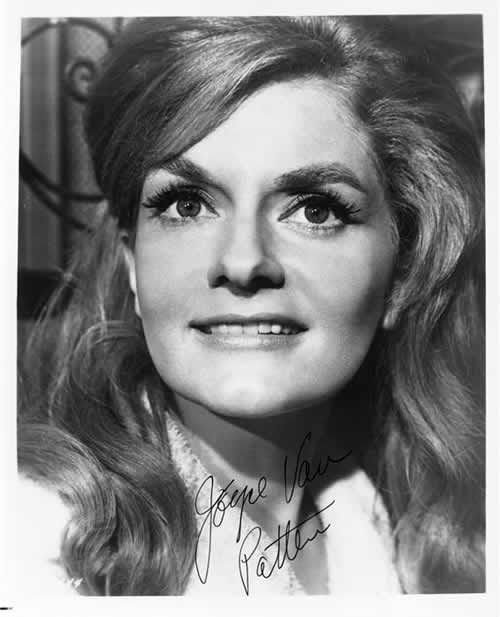 Wonderful character actress Joyce Van Patten. I always get happy when I see her on tv or in a movie.