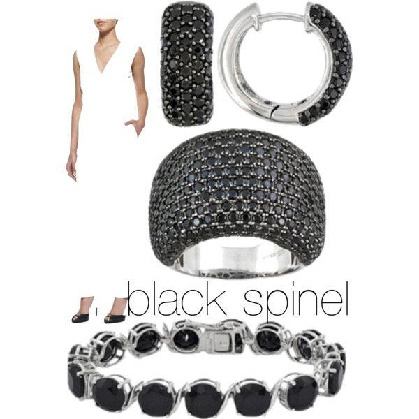 Jtv Necklaces: Black Spinel JTV Jewelry Love