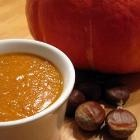 Fresh roasted chestnut and pumkin soup @ allrecipes.co.uk