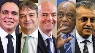 Blog Esportivo do Suíço:  Fifa formaliza nome dos 5 candidatos nas eleições presidenciais de fevereiro