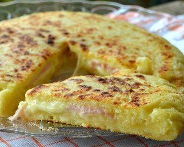Tortilla francesa rellena