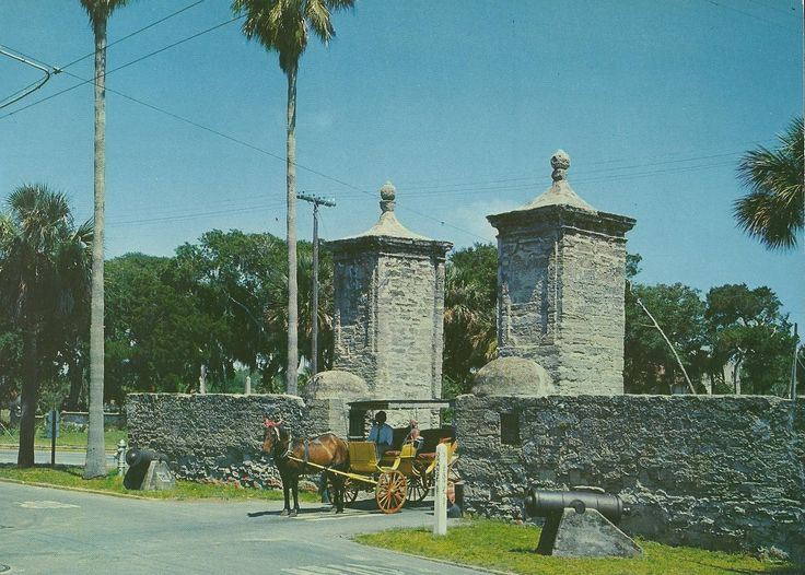 Old city gates st augustine florida florida sunshine for St augustine craigslist