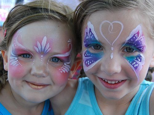 CSC_0525 | princess and butterfly face painting, Kids painte… | Flickr