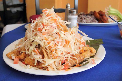 Hispanic Heritage Month: Nicaraguan yuca, pork rind & cabbage salad (RECIPE) a.k.a. Vigoron| ¿Qué Más?