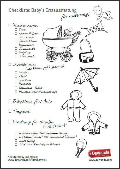 erstausstattung für ein baby