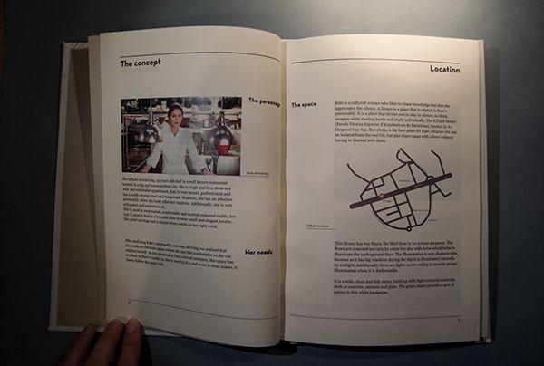Blank - the manual by Laura Peris, via Behance