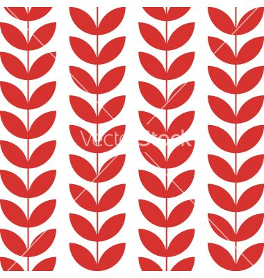 Flower pattern seamless background vector - by thecorner on VectorStock®