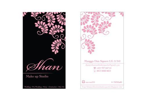 Make Up Studio Namecard