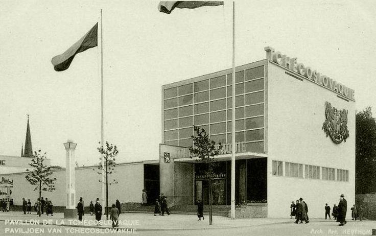 Czechoslovak pavilion in Brussels (1935)