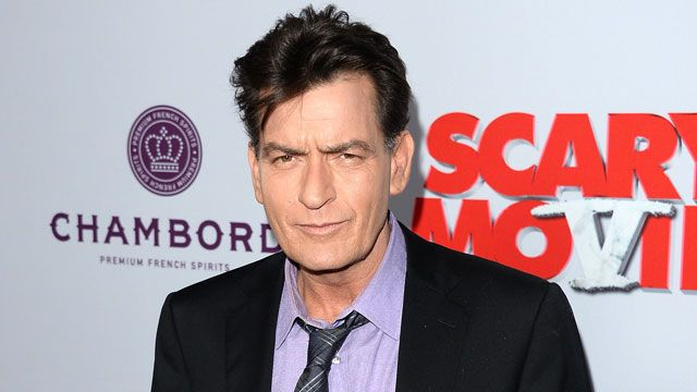 Charlie Sheen will talk about his HIV status on the 'Today' show on Tuesday.