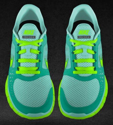 My brand new Tiffany Blue Nike Free Runs! My new gym BFFs!