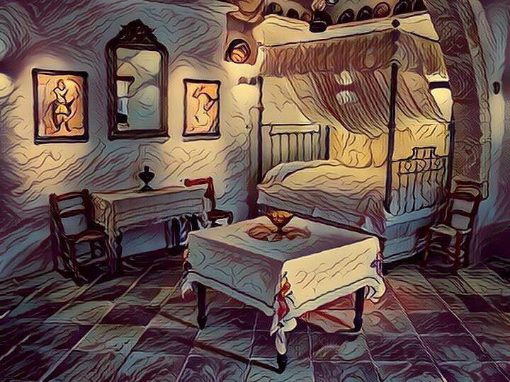 Room in an old house (Fauvism style). Habitación en casa antigua (estilo Fauvismo). #room #rooms #habitacion #habitaciones #casa #casas #casaantigua #casasantiguas #oldhouse #oldhouses #fauvism #fauvismo #art #arts #arte #artes #paintwork #paintworks #pintura #pinturas #painting #paintings #cuadro #cuadros