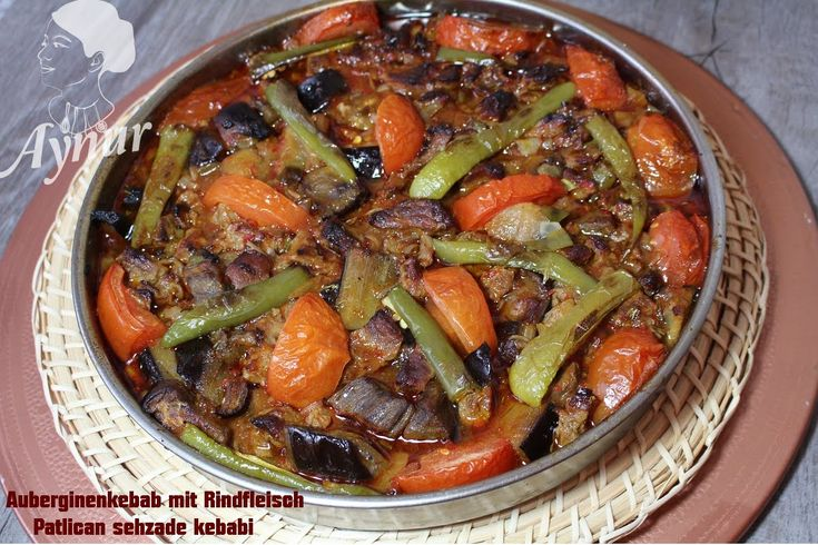 Patlican Şehzade Kebabı  Tarifi- Auberginen Kebab-Ramazan tarifleri