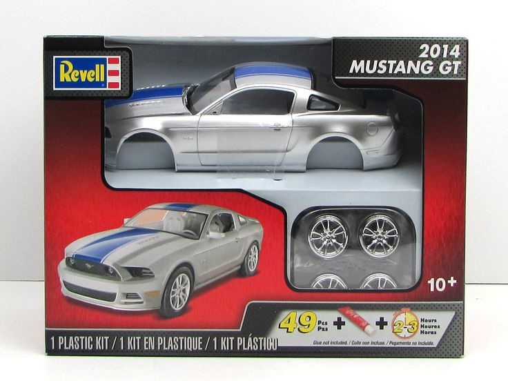 A New Plastic Model Car Kit Made By Revell In 1 25 Scale Has Only